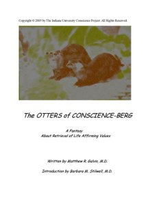 Book cover for: The Otters of Conscience-berg.